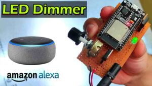 Read more about the article ESP32 PWM LED Dimmer with Alexa