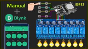 ESP32 Home Automation System using Blynk App