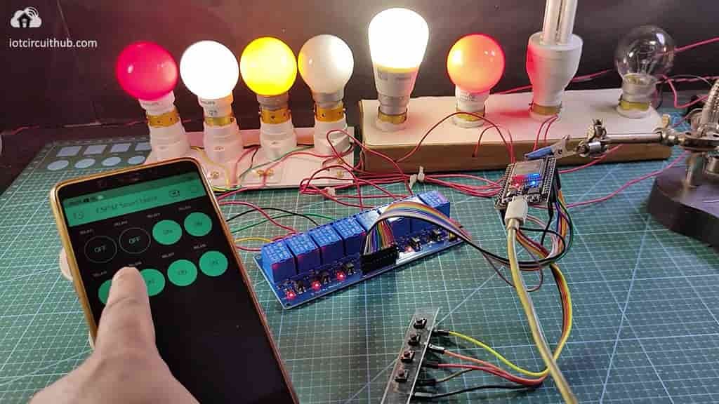 Controlling Relays with Blynk App