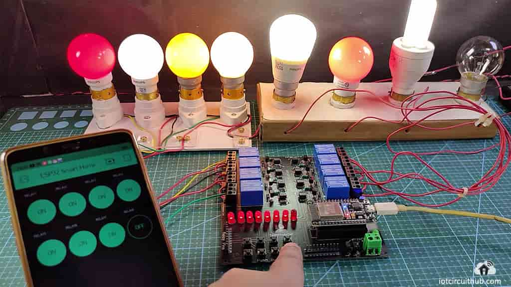 Blynk ESP32 home automation