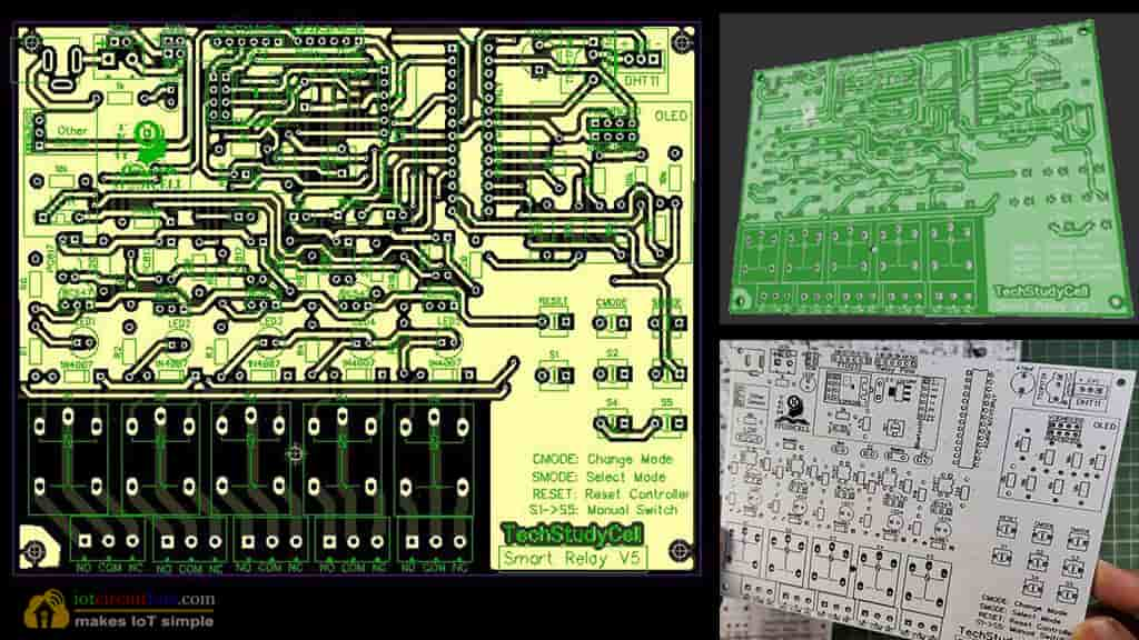 PCB for Arduino Home Automation
