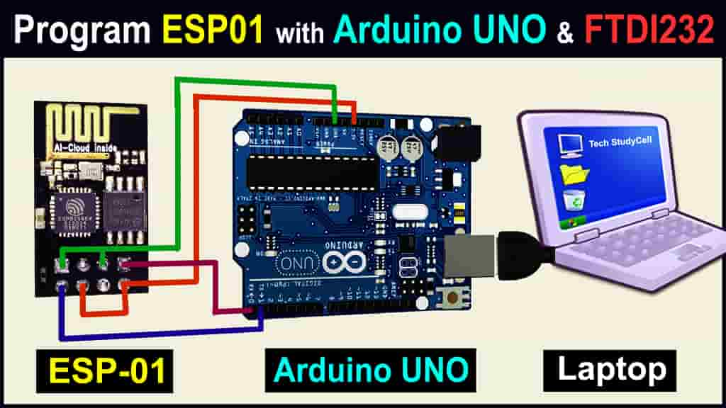 ESP8266 programming with Arduino UNO