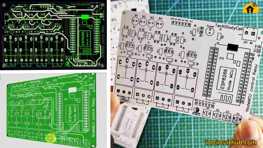 PCB for the Alexa ESP8266 Projects