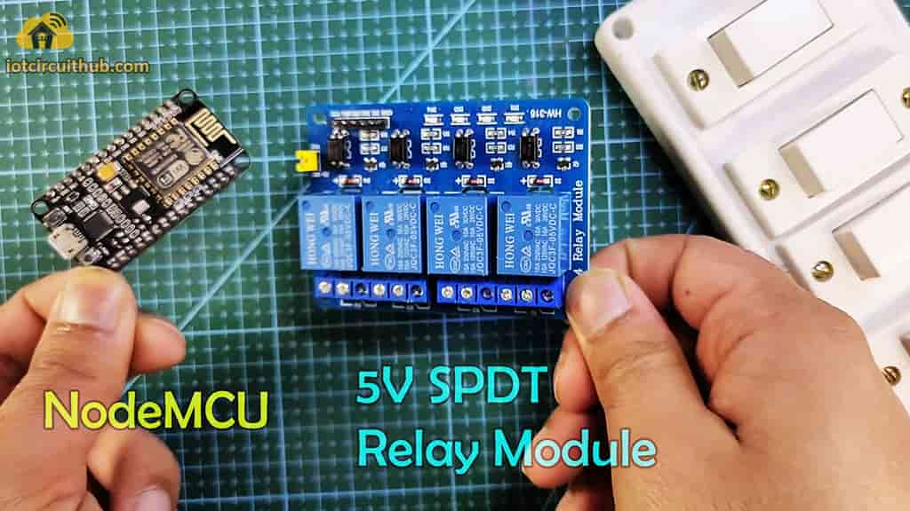 Components for the NodeMCU projects