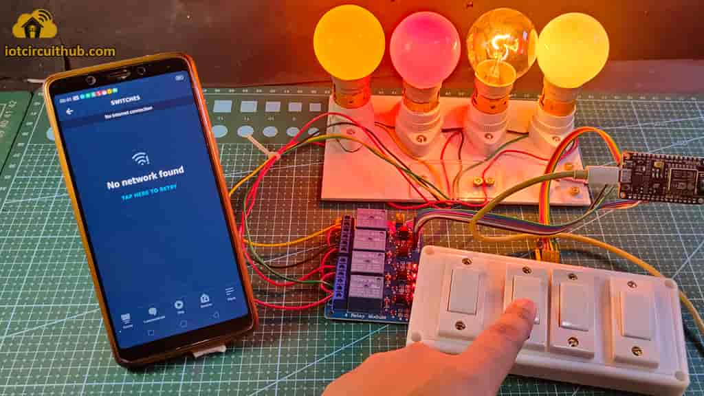Control Relays without WiFi