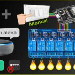 ESP32 Alexa Home Automation System with Echo DOT