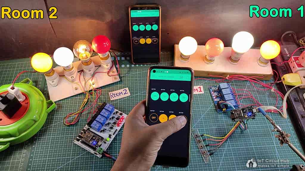 Controlling Relays with Blynk