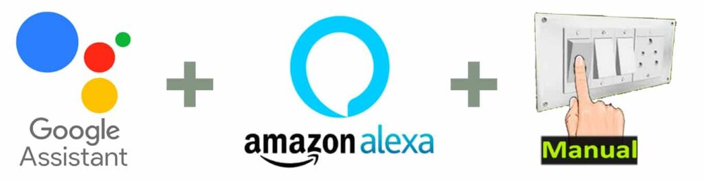 Smart Home with Google Assistant and Alexa