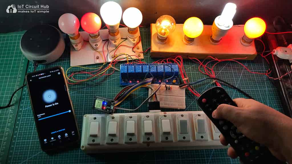 Control Relay with IR Remote