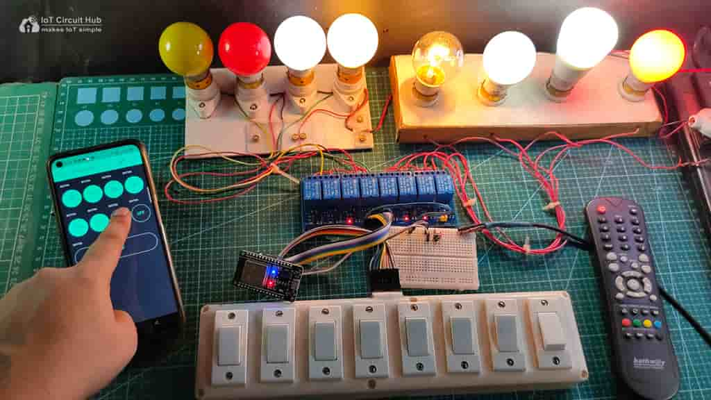 ESP32 Control Relay with Blynk