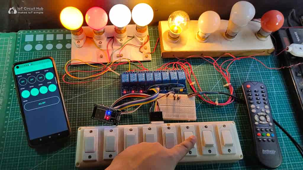 Control Relays with Switches