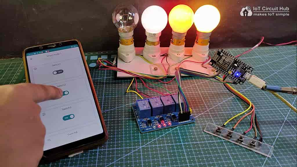 Control Relays with Arduino IoT Cloud App