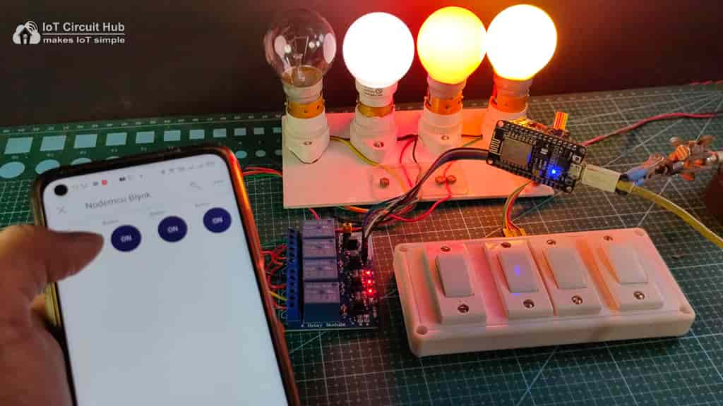 Control Relay with Blynk IoT App