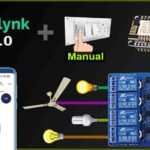 Home Automation using NodeMCU ESP8266 and Blynk 2.0