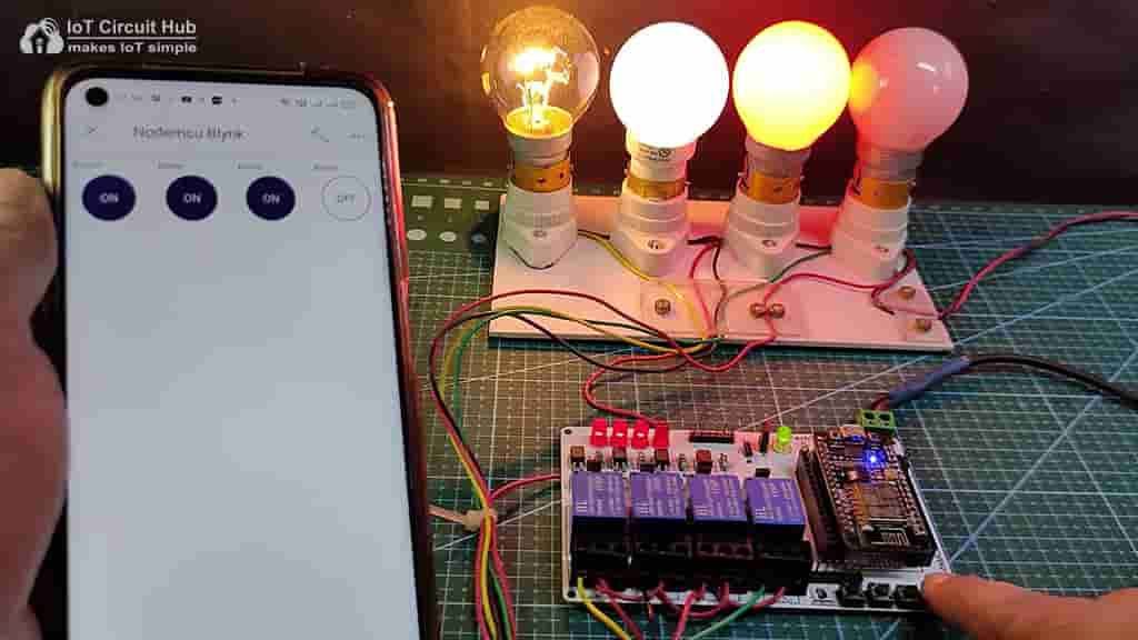 Control Relays with Pushbuttons