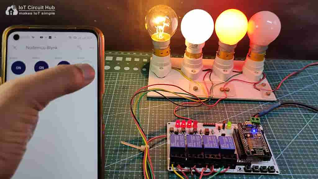Control Relays with Blynk App