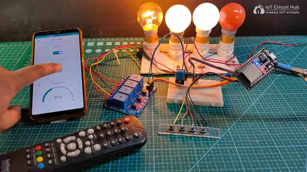 Control Relays with Arduino IoT Cloud