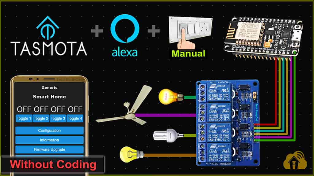 Read more about the article Tasmota NodeMCU ESP8266 Home Automation Project
