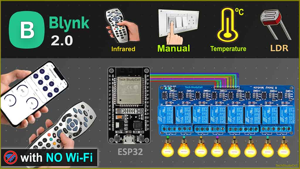 ESP32-Blynk-2-Home-automation pic 8