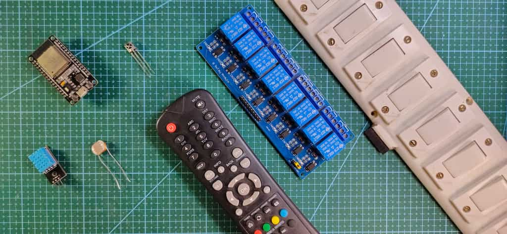 components ESP32 home automation projects P2